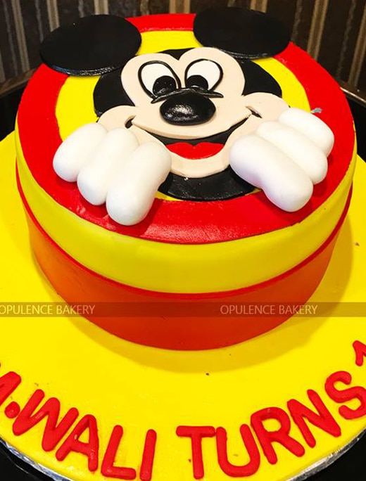 Mickey Mouse Custom Birthday cake