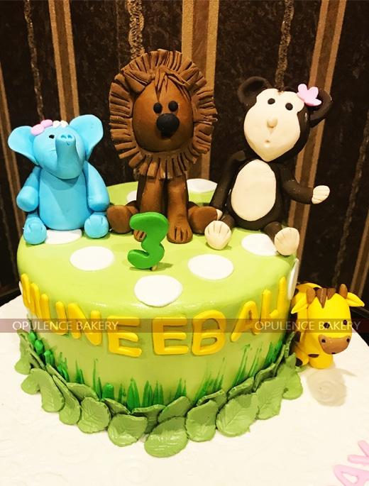 Animal Themed 2 Pounds Cake