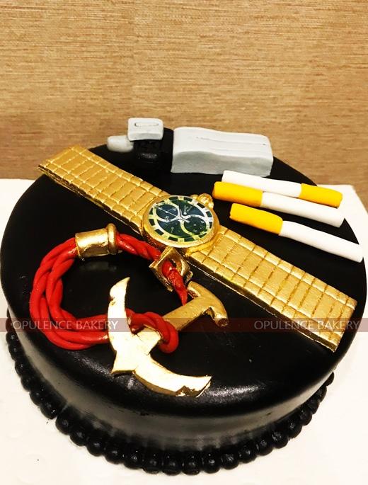 3 Pounds Navy Officer Cake